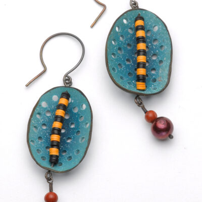 Blue Circus Earrings